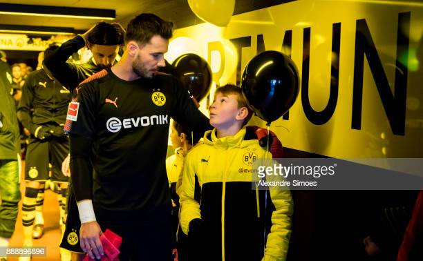 goalkeeper Roman Buerki of Borussia Dortmund during the Bundesliga match between Borussia Dortmund and SV Werder Bremen at Signal Iduna Park on...