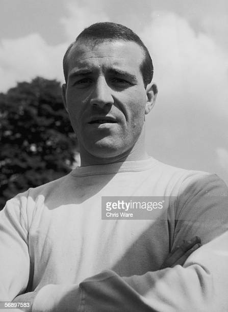 Goalkeeper Ron Springett who plays for Sheffield Wednesday FC and the England national side, 18th May 1961.