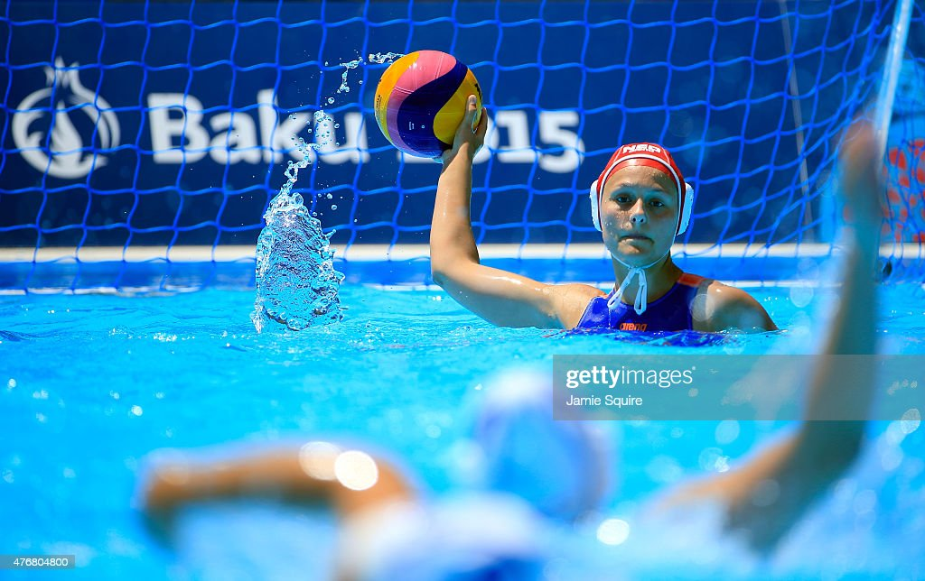 Water Polo - Day 0: Baku 2015 - 1st European Games : News Photo