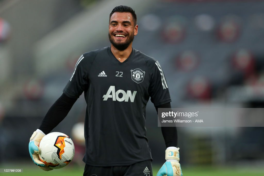 Manchester United v FC Kobenhavn - UEFA Europa League Quarter Final : News Photo