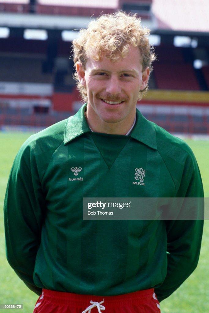 Goalkeeper Stephen Pears of Middlesbrough, circa 1986.
