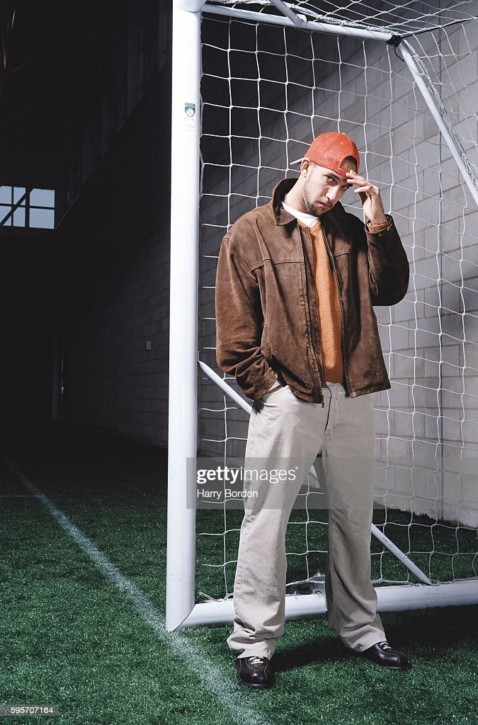 Goalkeeper Tim Howard is photographed for Complex magazine on January 23, 2004 in London, England.