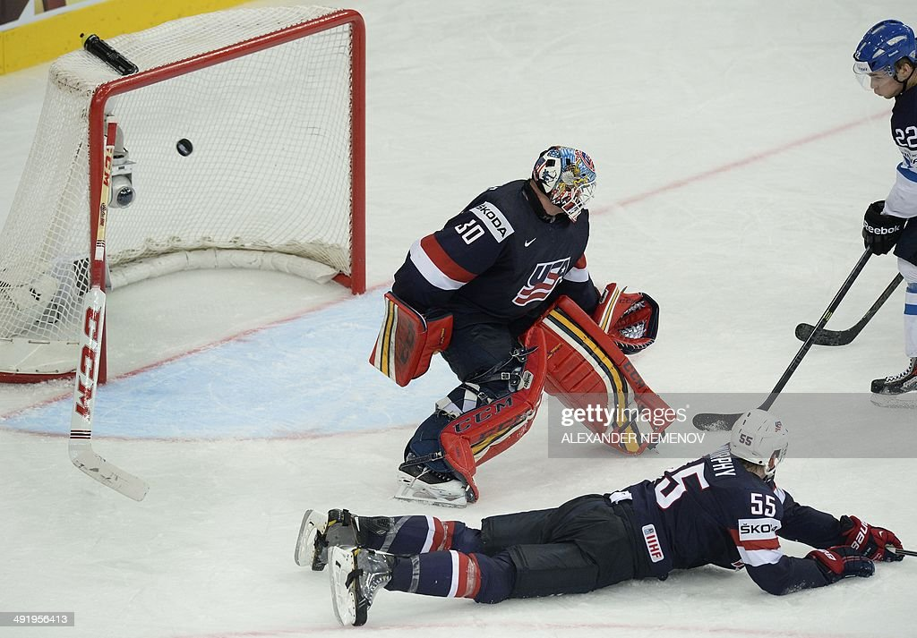 IHOCKEY-WORLD-USA-FIN : News Photo