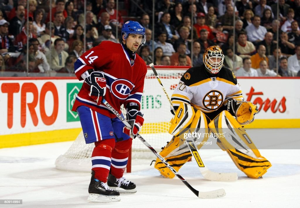 Game Seven Eastern Conference Quarterfinals - Boston Bruins v Montreal Canadiens : Photo d'actualité