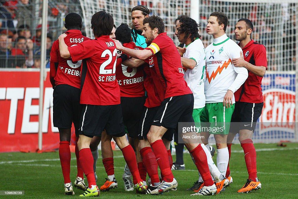 SC Freiburg v SV Werder Bremen - Bundesliga