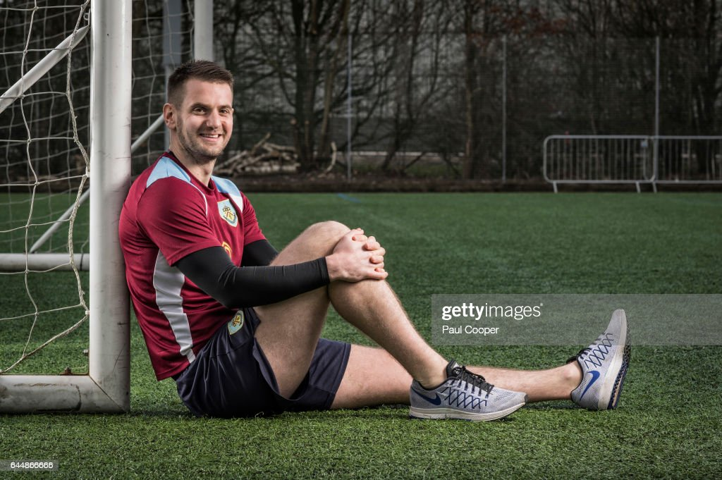 Goalkeeper Tom Heaton is photographed on July 11, 2016 in Burnley, England.