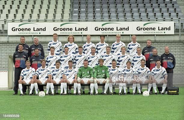 Goalkeeper Trainer John Tuithof, Team Manager Wim de Weerdt, Jan Bruin, Edwin Starke, Marcel Boudesteyn, Arie Smit, Elroy Kromheer, Marco Roelofsen,...