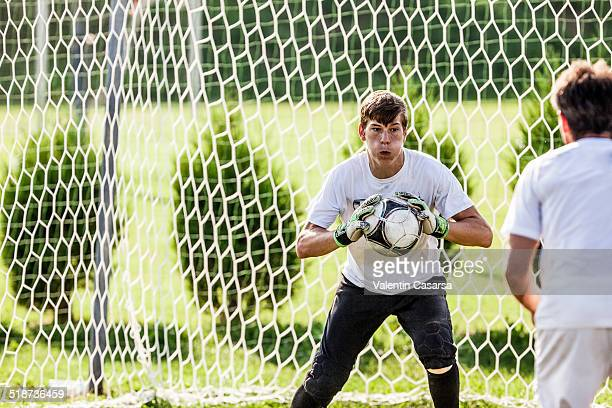 Goalkeeper training