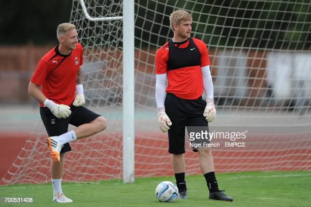 Goalkeepers Ryan Allsop and Lee Burge Coventry City