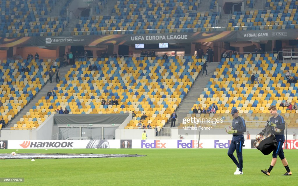 Zorya Luhansk v Hertha BSC - Europa League
