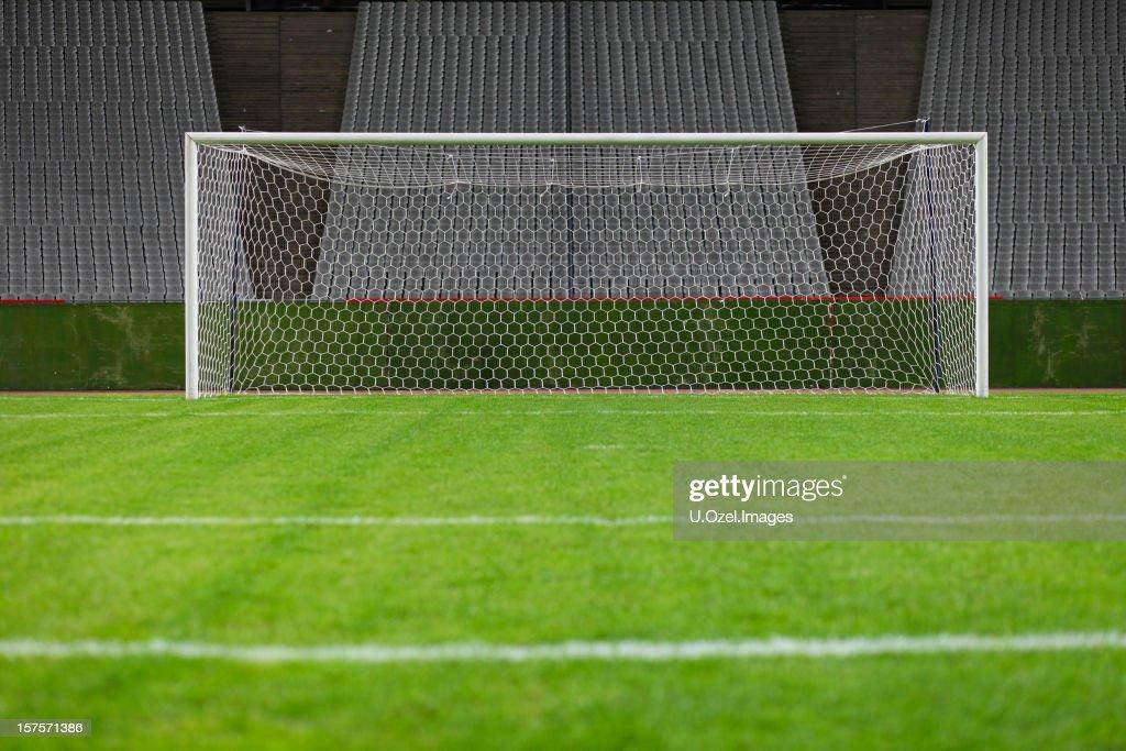 Goalposts : Stock Photo