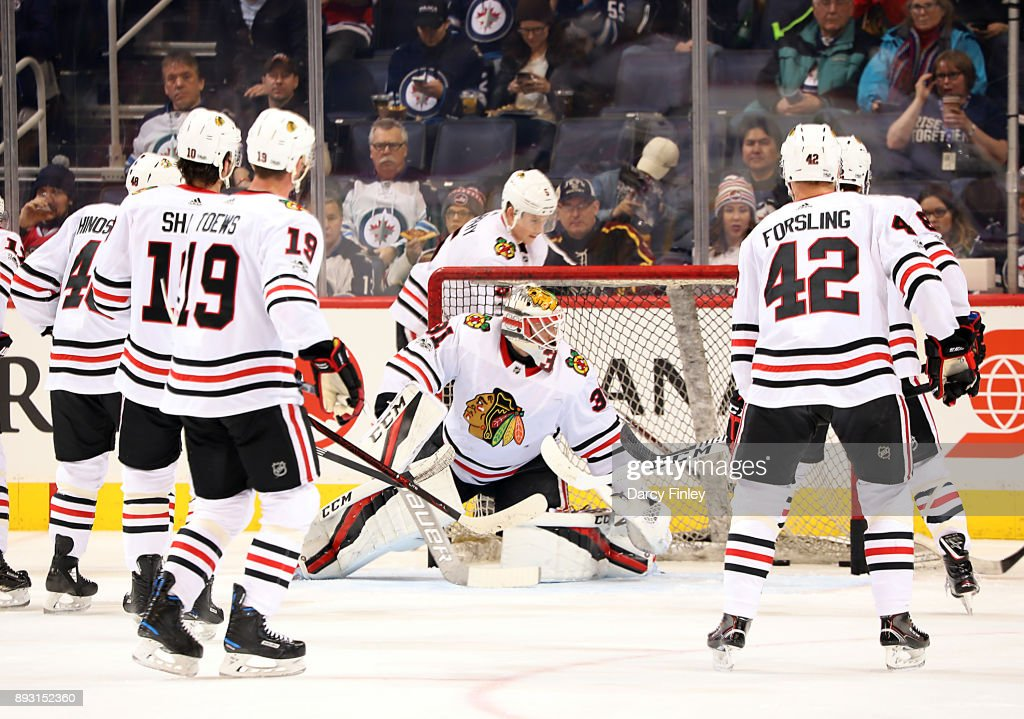 Chicago Blackhawks v Winnipeg Jets