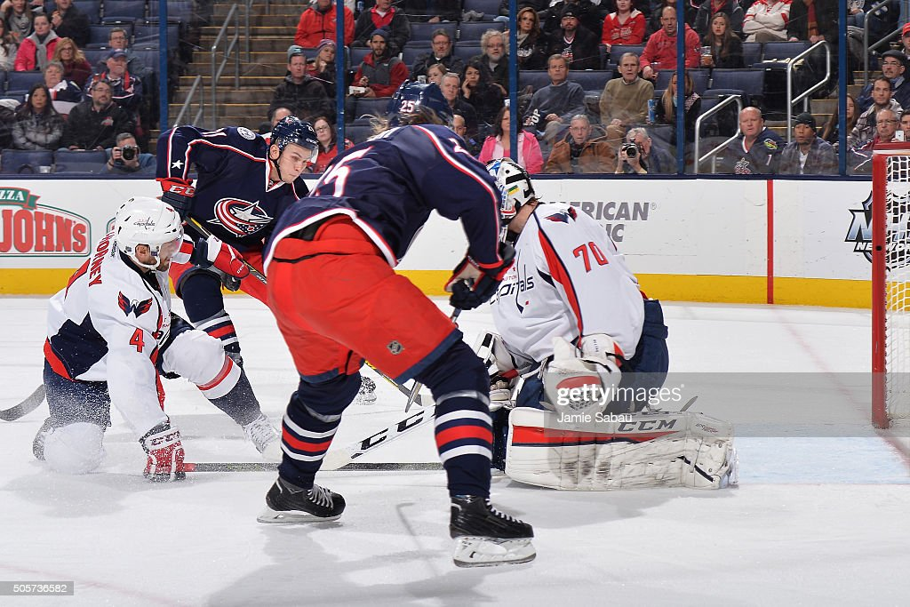 Washington Capitals v Columbus Blue Jackets