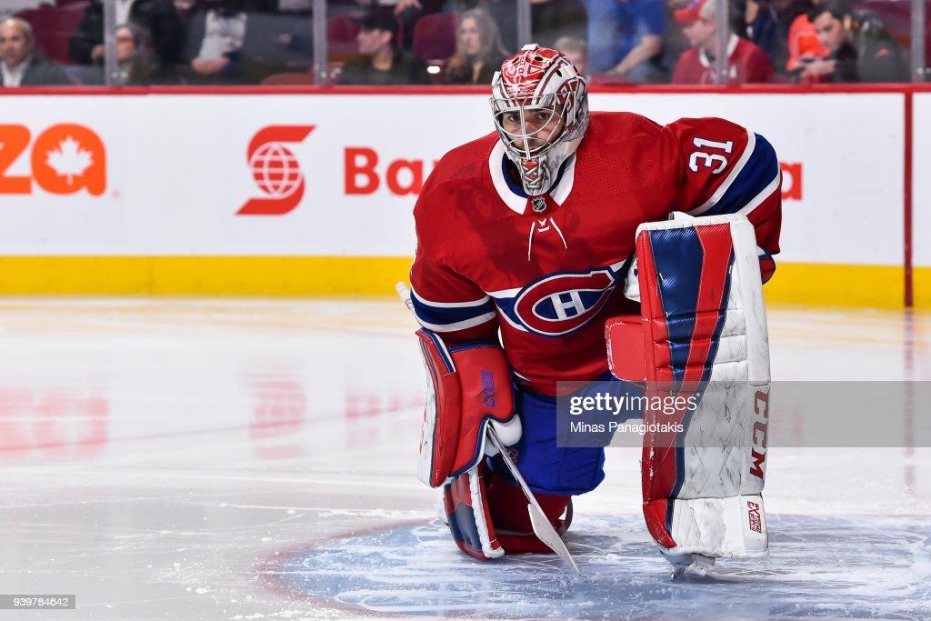 Detroit Red Wings v Montreal Canadiens : Foto di attualità