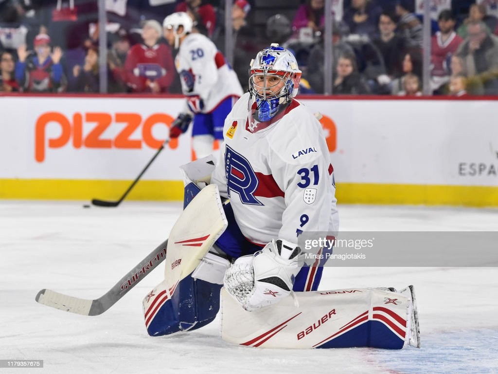 Cleveland Monsters v Laval Rocket : News Photo