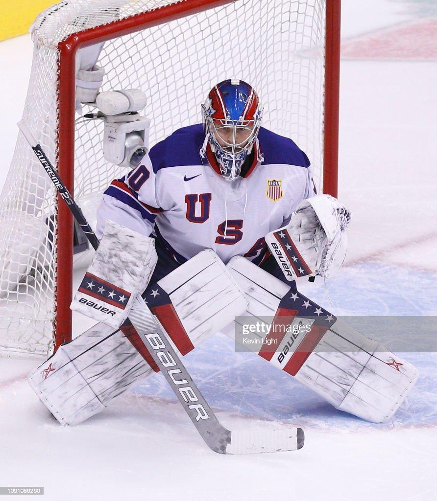 United States v Russia: Semifinals - 2019 IIHF World Junior Championship : News Photo