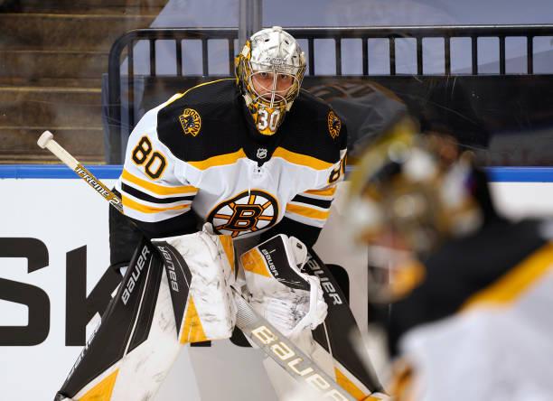 CAN: Boston Bruins v Carolina Hurricanes - Game Three