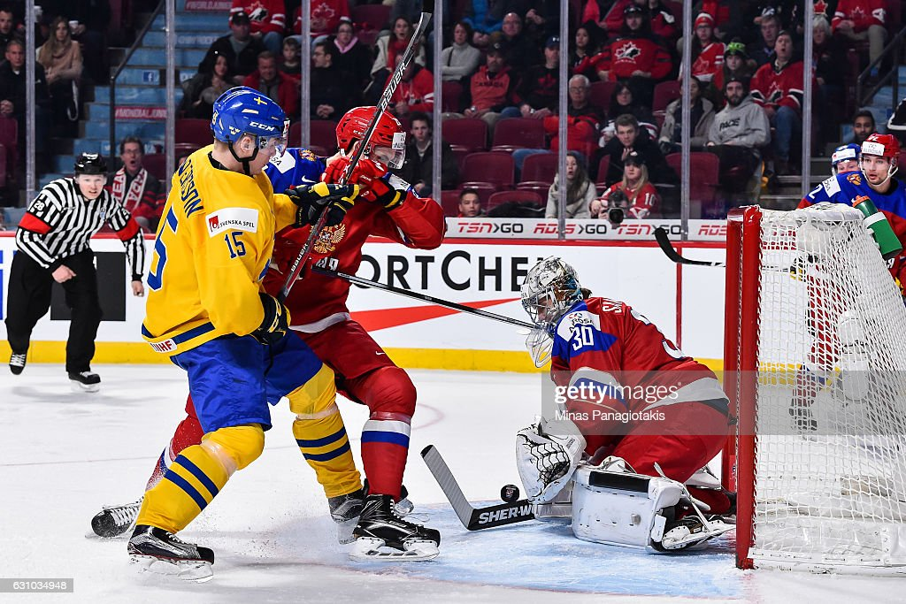 Sweden v Russia - Bronze Medal Game - 2017 IIHF World Junior Championship : News Photo