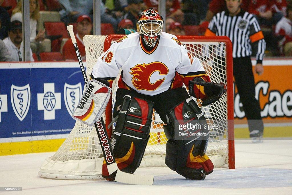Calgary Flames v Detroit Red Wings : News Photo