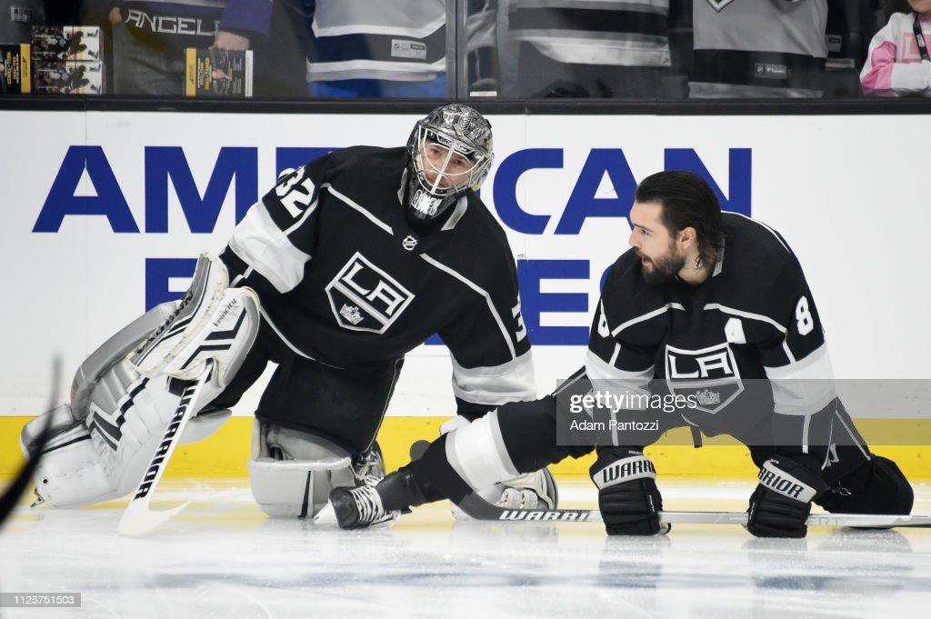 CA: Washington Capitals v Los Angeles Kings