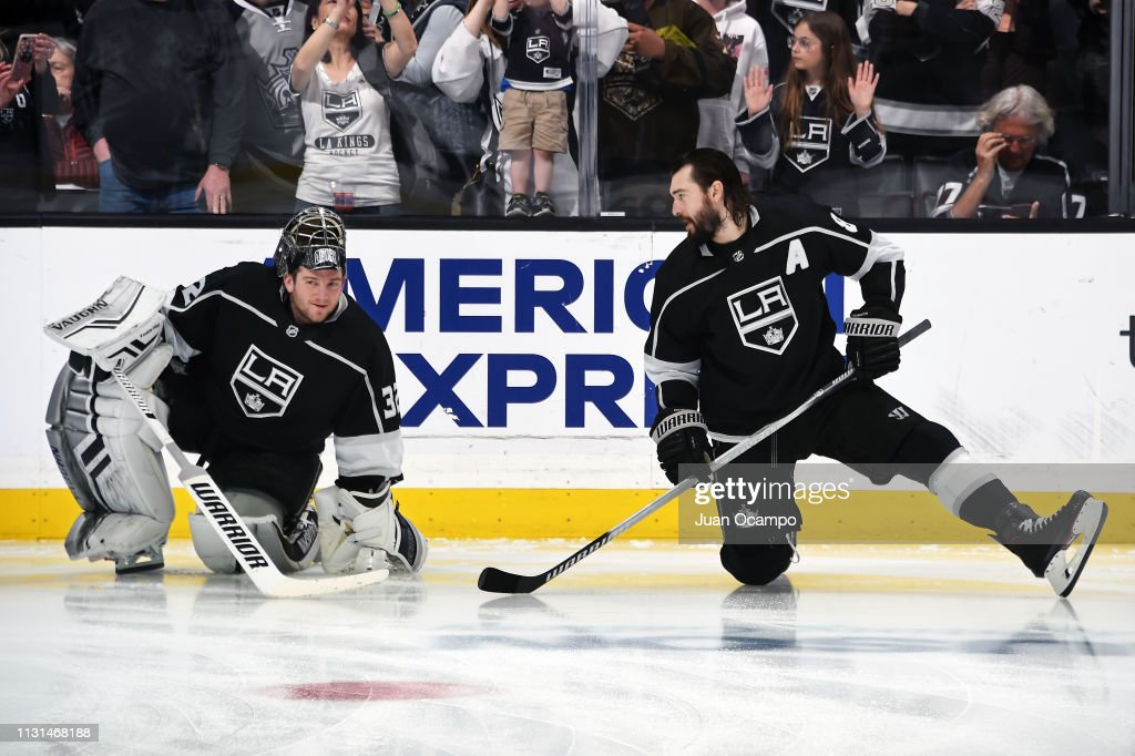 CA: Winnipeg Jets v Los Angeles Kings