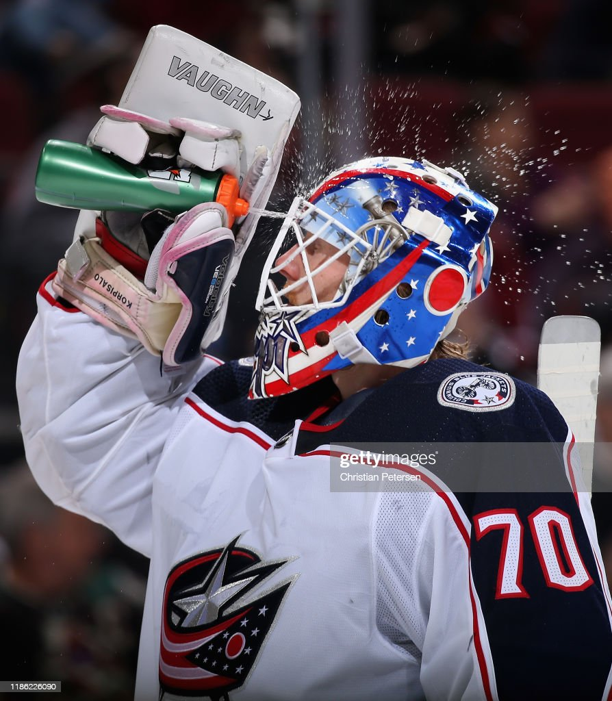 Columbus Blue Jackets v Arizona Coyotes : News Photo