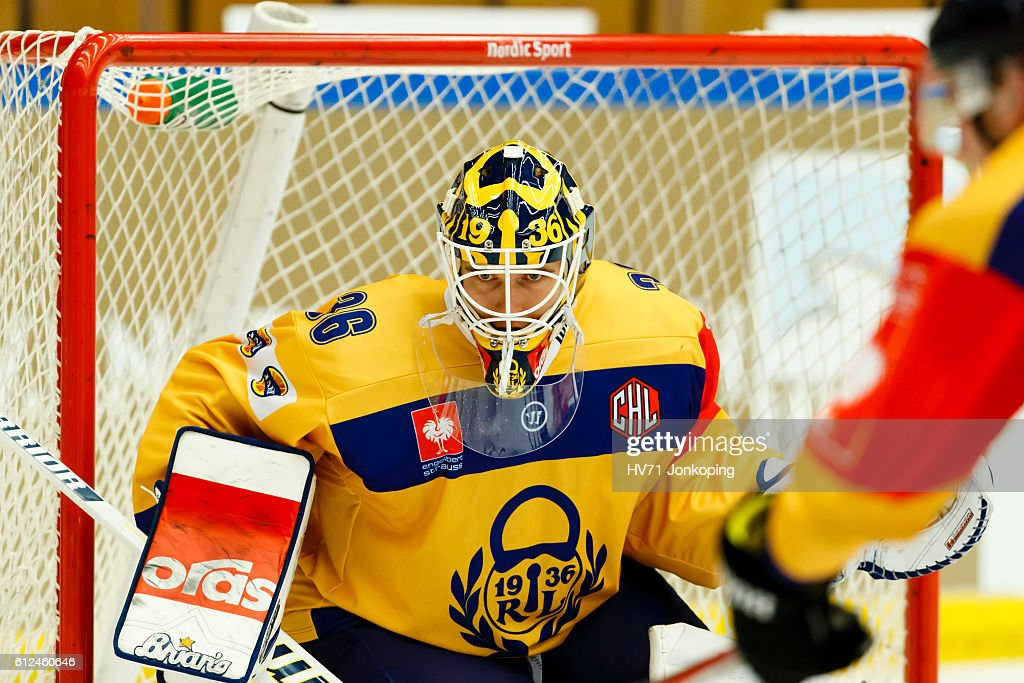 HV71 Jonkoping v Lukko Rauma - Champions Hockey League : News Photo