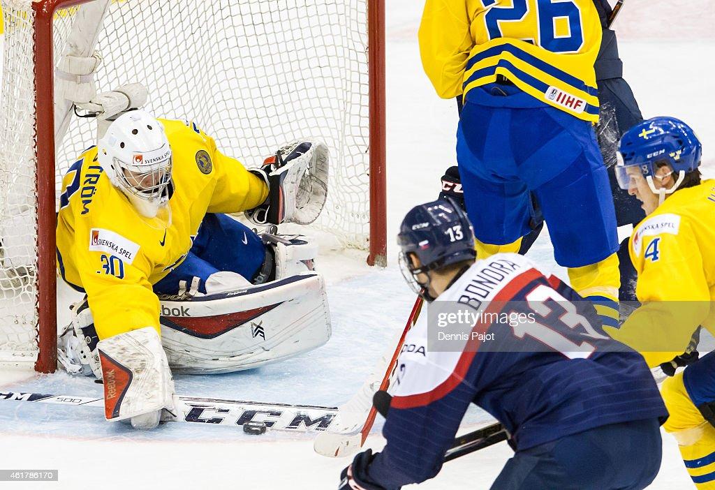 Bronze Medal - 2015 IIHF World Junior Championship : News Photo