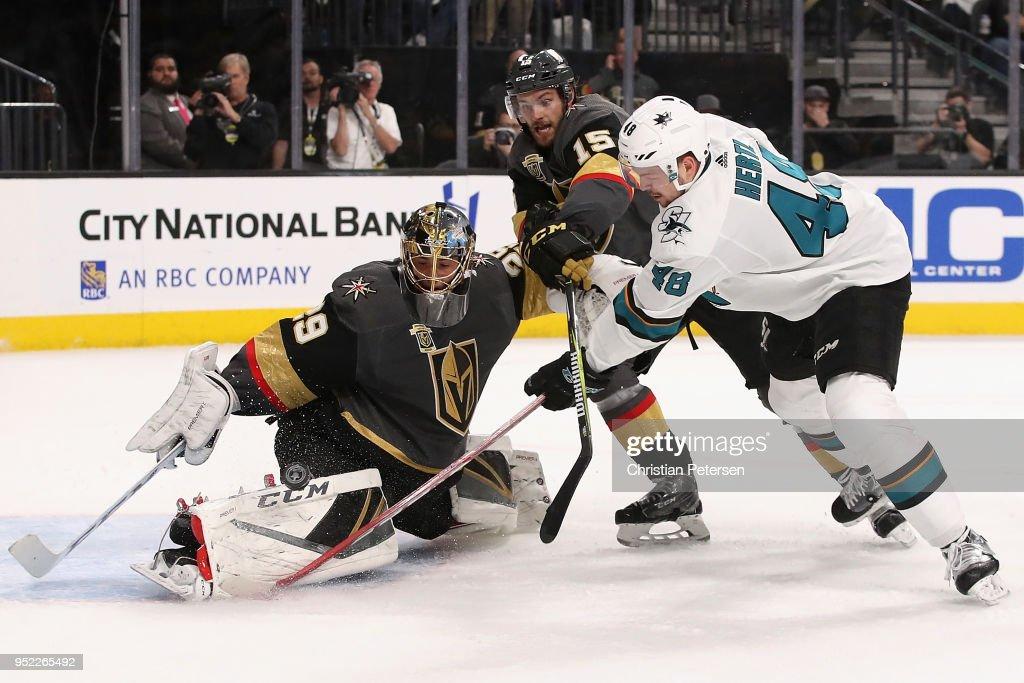 San Jose Sharks v Vegas Golden Knights - Game One