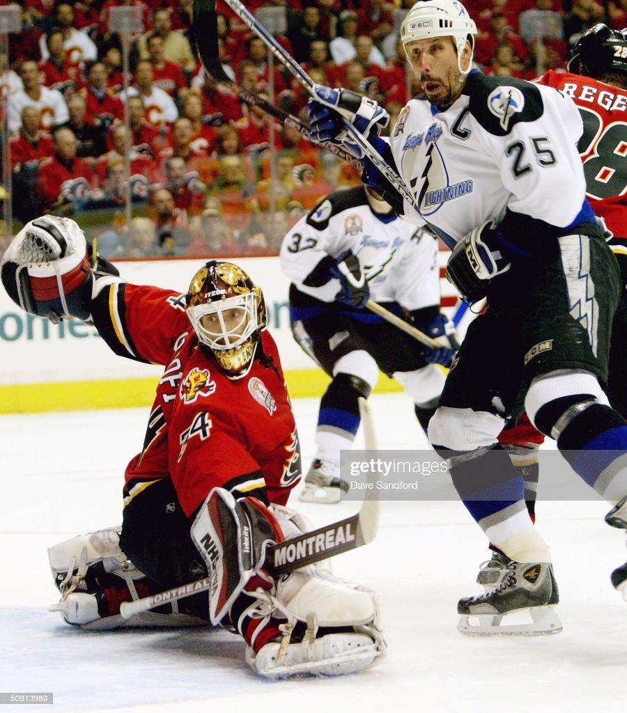 Stanley Cup Finals: Lightning v Flames : Nachrichtenfoto