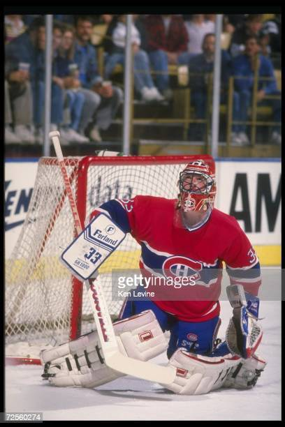 Goaltender Patrick Roy of the Montreal Canadiens Mandatory Credit Ken Levine /Allsport