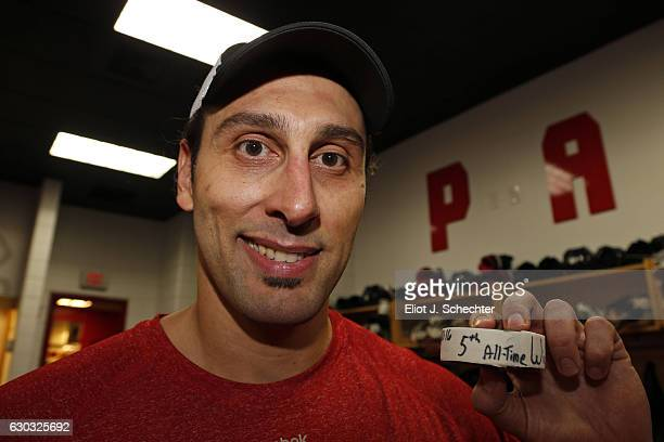 Goaltender Roberto Luongo of the Florida Panthers made 33 saves and tied Terry Sawchuk for fifth alltime with his 447th NHL win Against the Buffalo...