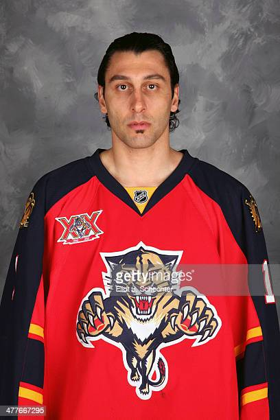 Goaltender Roberto Luongo of the Florida Panthers poses for his official headshot for the 20132014 NHL season