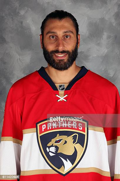 Goaltender Roberto Luongo of the Florida Panthers poses for his official headshot for the 20162017 season on September 22 2016 at the BBT Center in...