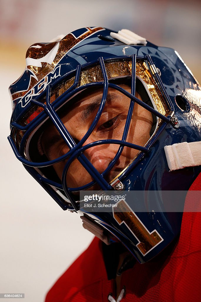Goaltender Roberto Luongo Of The Florida Panthers Sports A New