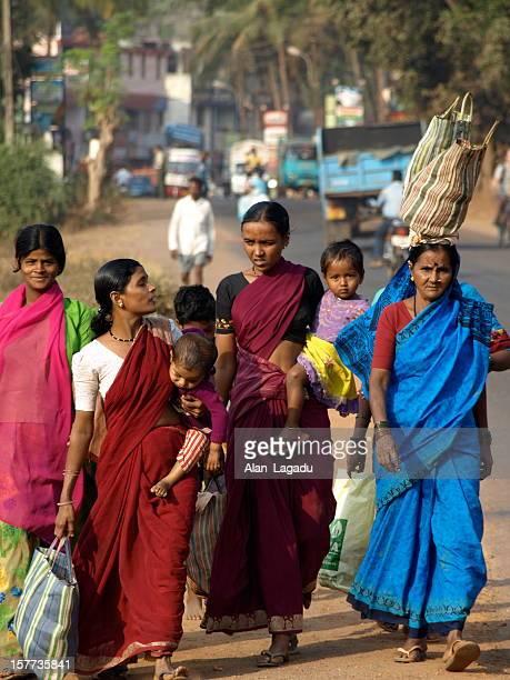 Goan family, India.