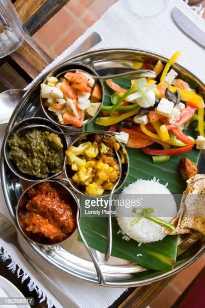 Goan thali at Siolim House.