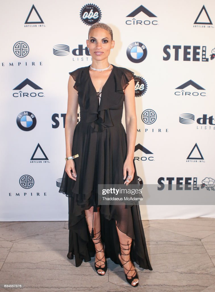 Goapele poses for a picture at The MacArthur on February 9, 2017 in Los Angeles, California.