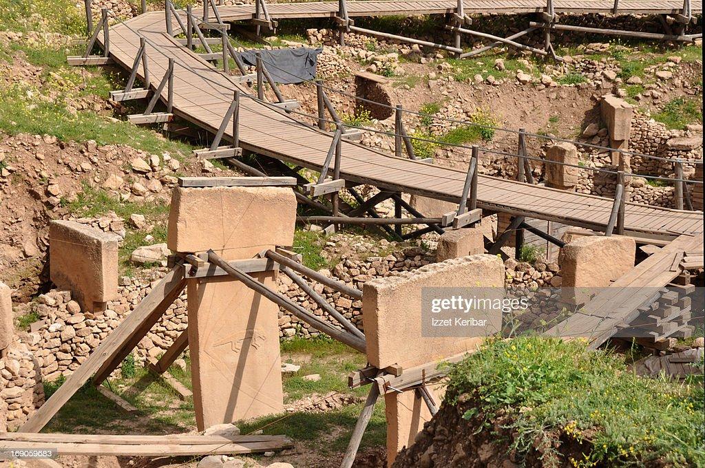 Gobekli Tepe : Stock Photo