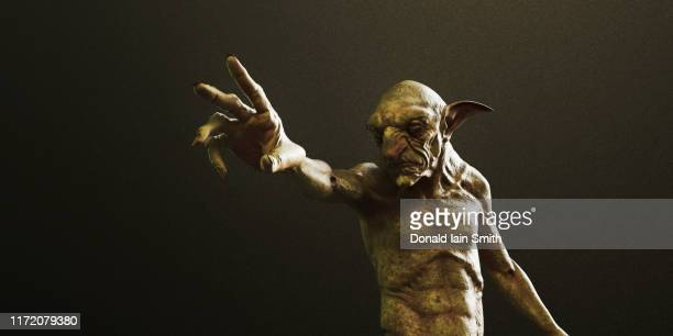 goblin - monster fictional character stock pictures, royalty-free photos & images