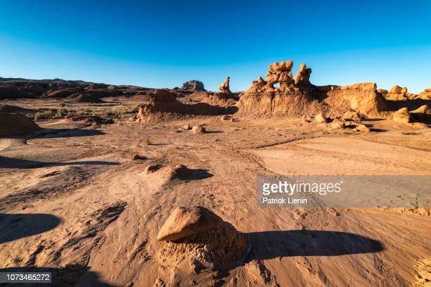 goblin valley state park - sandy utah stock pictures, royalty-free photos & images
