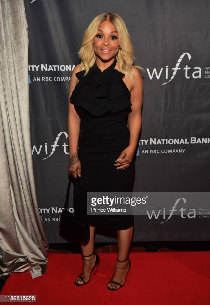 Gocha Hawkins attends the 2019 WIFTA Gala at Four Seasons Hotel on November 9 2019 in Atlanta Georgia