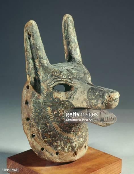 God anubis ramesside Egyptian Art Louvre Museum Egypt