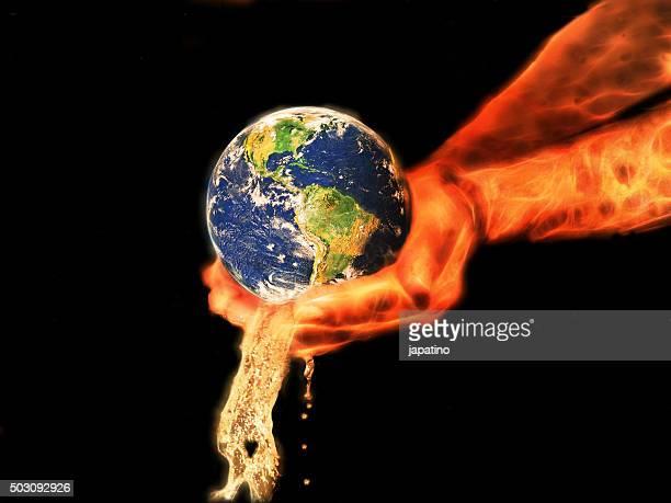 God delivered the planet earth