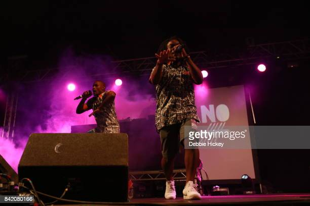 02 God Knows MuRli and mynameisjOhn of Rusangano Family performs at Electric Picnic Festival at Stradbally Hall Estate on September 2 2017 in Laois...