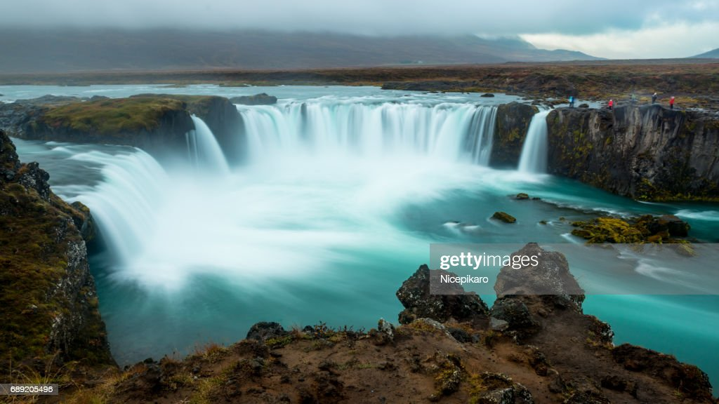 Godafoss Waterfall, Iceland : Stock Photo