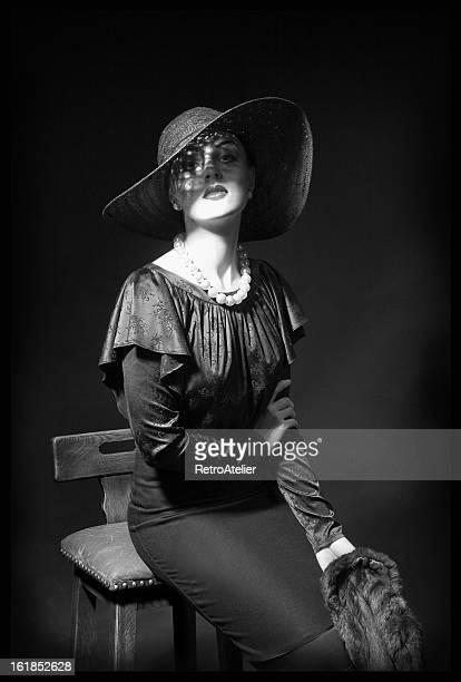 deusa. - mulher fatal - fotografias e filmes do acervo