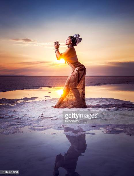 goddess divine feminine - mystic goddess stock photos and pictures