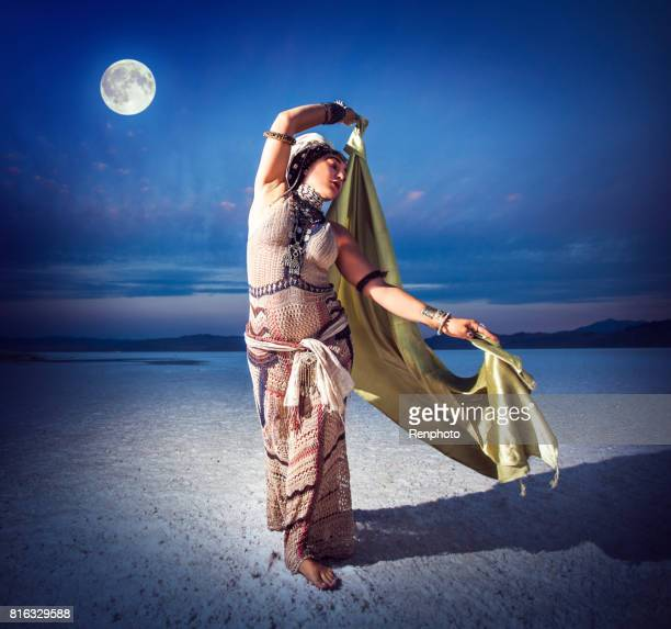 goddess divine feminine - belly dancing stock photos and pictures
