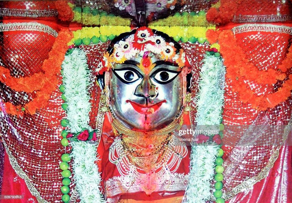 Goddess Durga-Navratri-Durga Puja : Stock Photo